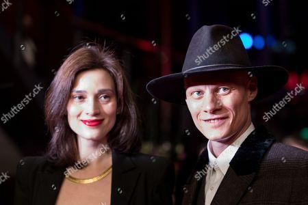 Irmena Chichikova and Tomas Lemarquis