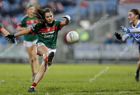 Mayo vs Dublin. Mayo's Niamh Kelly