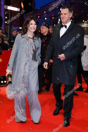 Iris Berben mit Partner Heiko Kiesow