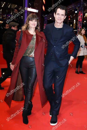 Tom Tykwer mit Ehefrau Marie Steinmann
