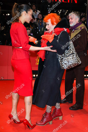 Annabelle Mandeng and Zazie de Paris