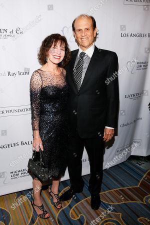 Lori Anne Hackel and Michael Milken