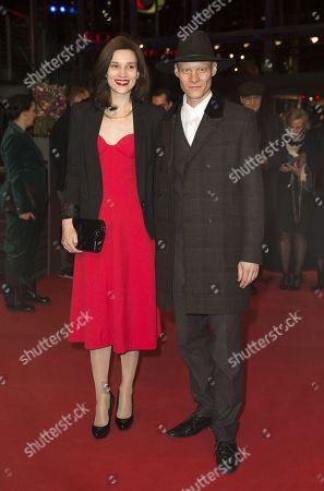 Stock Picture of Irmena Chichikova and Tomas Lemarquis