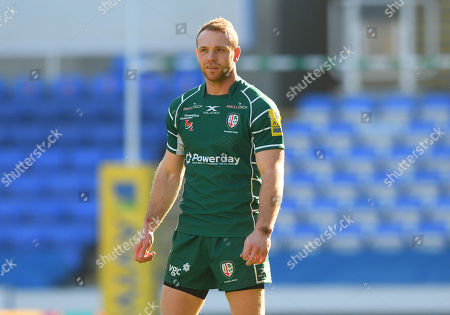 Greig Tonks of London Irish during the Aviva Premiership Rugby match between London Irish and Worcester Warriors at Madejski Stadium on February 25th 2018 in Reading, Berkshire, England. (Photo by Gareth Davies/PPAUK)