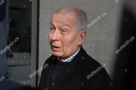 Chairman of the Work and Pensions Select Committee, Frank Field, at the BBC