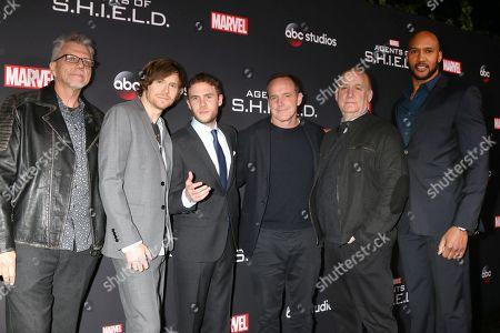 Jeffrey Bell, Jed Whedon, Iain De Caestecker, Clark Gregg, Jeph Loeb