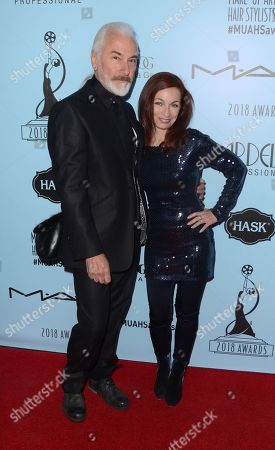 Rick Baker and Silvia Abascal