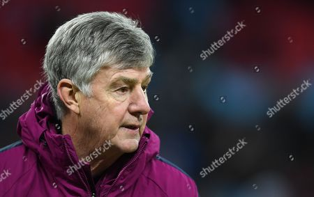 Manchester City Co assistant Coach Brian Kidd after the Carabao Cup Final