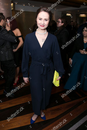 Editorial image of '2018 WhatsOnStage Awards Concert' Awards, London, UK - 25 Feb 2018