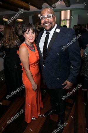 Stock Photo of Vikki Stone and Trevor Dion Nicholas