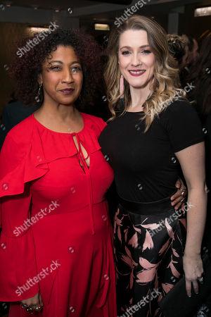 Melanie La Barrie and Alice Fearn