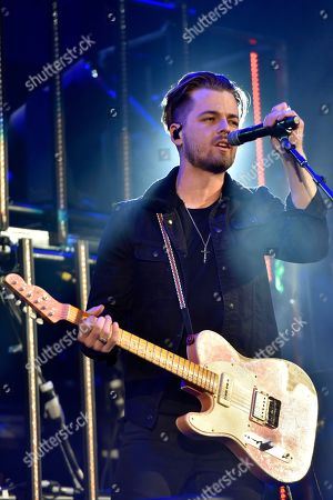 Chase Bryant performs an opening act during the Weekend Worrior World Tour at the Allstate Arena, in Rosemont, IL