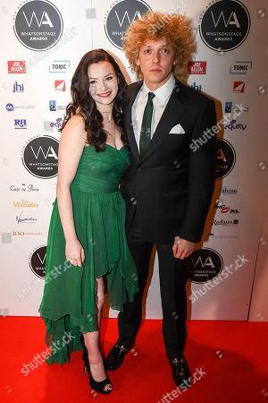 Christina Bennington and Andrew Polec