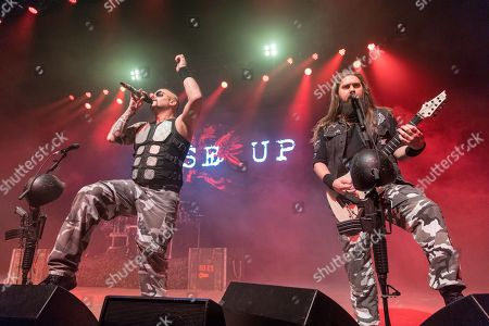 Sabaton - Joakim Broden and Chris Rorland