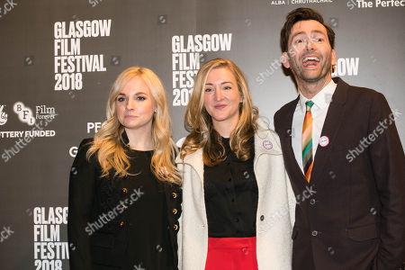 Faye Marsay, Director Daisy Aitkens and David Tennant