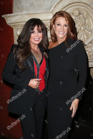 Marie Osmond and Angie Everhart