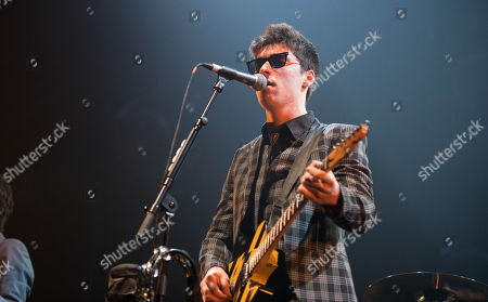 Editorial photo of The Strypes in concert at the SSE Hydro, Glasgow, Scotland, UK - 25 Feb 2018