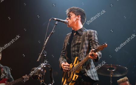Editorial image of The Strypes in concert at the SSE Hydro, Glasgow, Scotland, UK - 25 Feb 2018