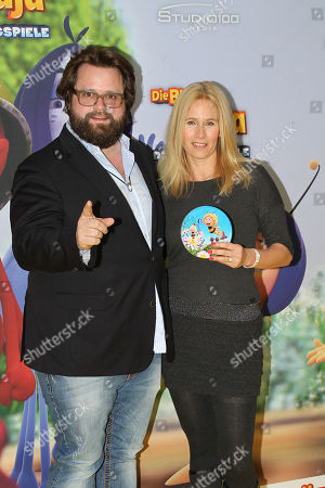 Antoine Monot Jr. mit Ehefrau Stefanie Sick,