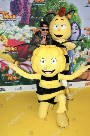 Editorial photo of Maya the Honey Bee - The Honey Games premiere, Munich, Germany - 25 Feb 2018