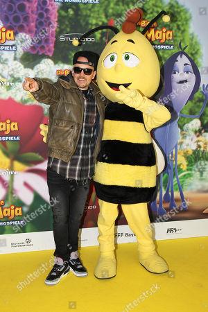 Editorial image of Maya the Honey Bee - The Honey Games premiere, Munich, Germany - 25 Feb 2018
