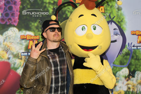 Editorial picture of Maya the Honey Bee - The Honey Games premiere, Munich, Germany - 25 Feb 2018