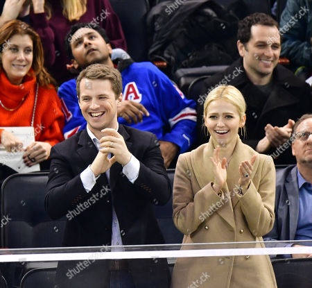 Editorial picture of Celebrities at Detroit Red Wings v New York Rangers, NHL ice hockey match, Madison Square Garden, New York, USA - 25 Feb 2018