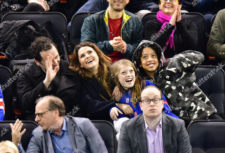 Editorial image of Celebrities at Detroit Red Wings v New York Rangers, NHL ice hockey match, Madison Square Garden, New York, USA - 25 Feb 2018