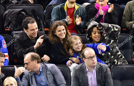 Stock Photo of Matthew Rhys, Keri Russell, River Russell and Guest