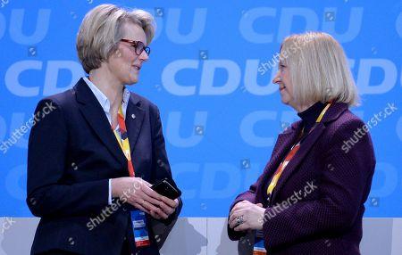 Stock Picture of Anja Karliczek and Johanna Wanka