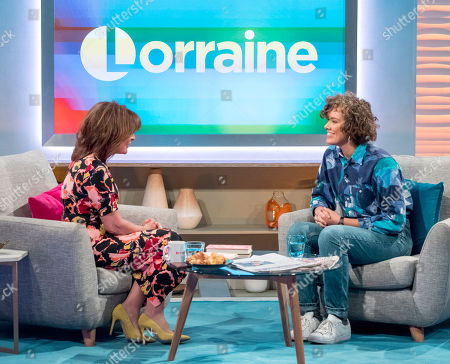 Lorraine Kelly and Ruby Tandoh