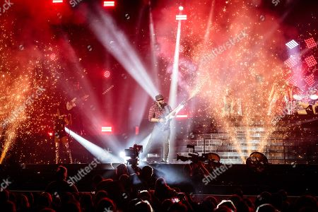 Kevin Davy White opens The X-Factor Tour 2018 at the Genting Arena