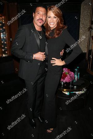 Lionel Richie, Angie Everhart