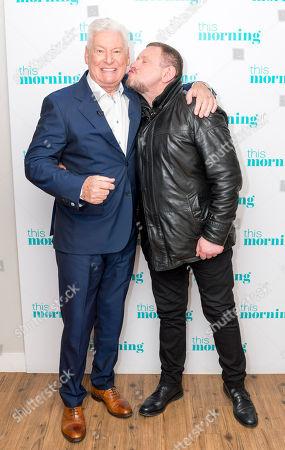 Roy Walker and Shaun Ryder