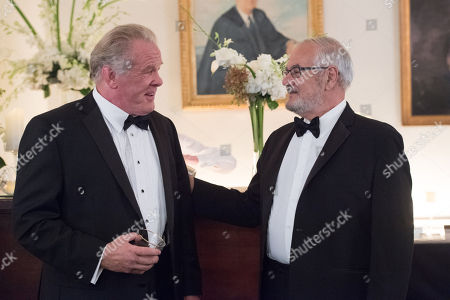 Stock Image of Nick Nolte, Barney Frank