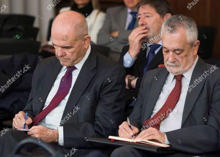 Manuel Chaves and Jose Antonio Grinan