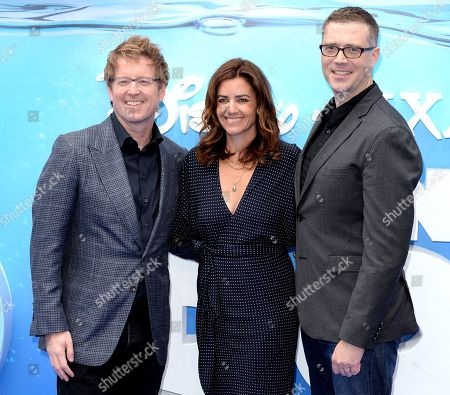 Stock Photo of Andrew Stanton, Lindsey Collins, Angus Maclane