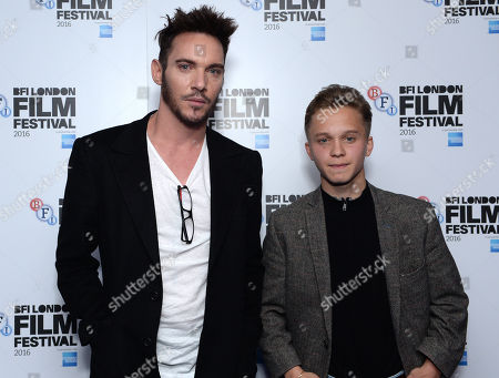Stock Picture of Jonathan Rhys Meyers, Daniel Huttlestone