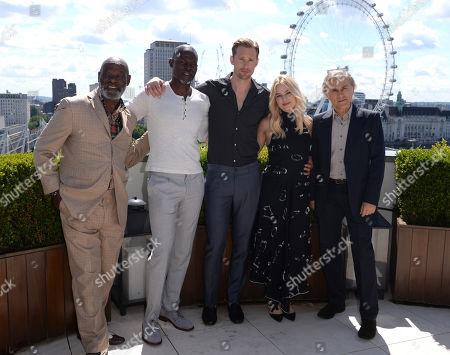 Yule Masiteng, Djimon Hounsou, Alexander Skarsgard, Margot Robbie, Christoph Waltz