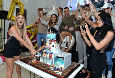 Editorial photo of Geordie Shore Cast Celebrate Their Fifth Birthday At Mtv, London, United Kingdom - 24 May 2016