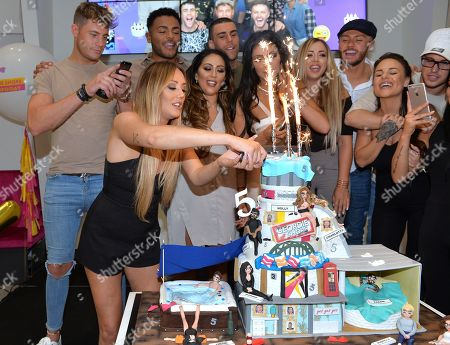Editorial picture of Geordie Shore Cast Celebrate Their Fifth Birthday At Mtv, London, United Kingdom - 24 May 2016