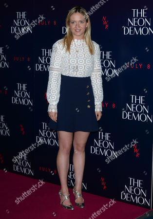 Editorial photo of The Neon Demon - Uk Premiere - Arrivals, London, United Kingdom - 31 May 2016