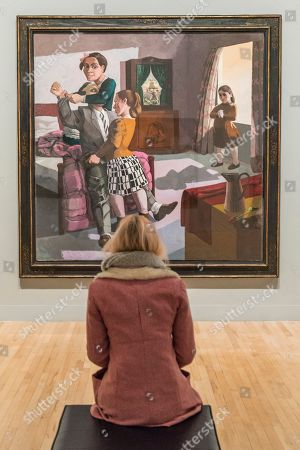 The Family, 1988, by Paula Rego -All Too Human: Bacon, Freud and a Century of Painting Life, Tate Britain's new exhibition