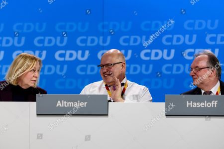 Editorial picture of CDU conference, Berlin, Germany - 26 Feb 2018