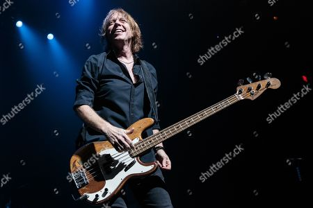 Musicians Jeff Pilson of Foreigner