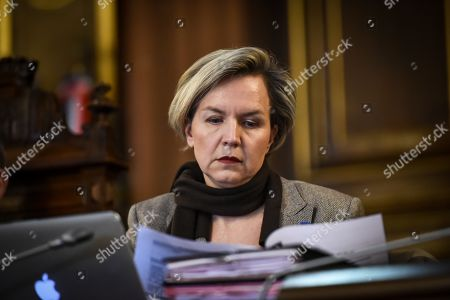 French right-wing Les Republicains party vice-president and Bordeaux's deputy Virginie Calmels