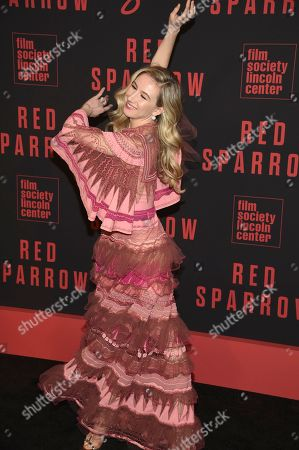 "Isabella Boylston attends the premiere of ""Red Sparrow"" at Alice Tully Hall, in New York"