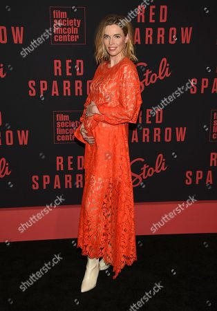 "Thekla Reuten attends the premiere of ""Red Sparrow"" at Alice Tully Hall, in New York"