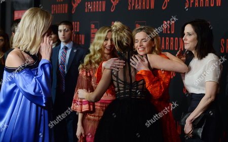 Joely Richardson, Isabella Boylston, Jennifer Lawrence, Thelka Reuten and Mary-Louise Parker
