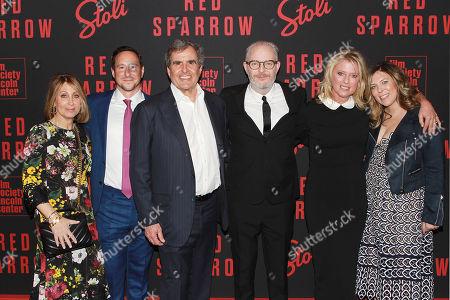 Stacey Snider, David Ready, Peter Chernin, Francis Lawrence,  Jenno Topping, Kira Goldberg
